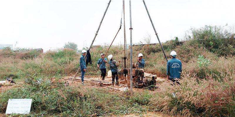 Khoan địa chất công trình